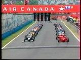 Formule 1 - Grand Prix Canada - départ - 1999
