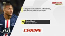 Mbappé «Messi est le grand favori» pour le Ballon d'Or «France Football» 2019 - Foot - Ballon d'Or