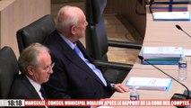Marseille : conseil municipal houleux après le rapport de la cour des comptes