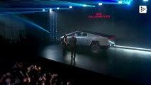 Elon Musk presents his new Tesla Cybertruck