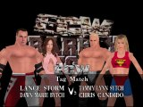 ECW Barely Legal Mod Matches Lance Storm & Dawn Marie vs Chris Candido & Tammy Lynn Sytch