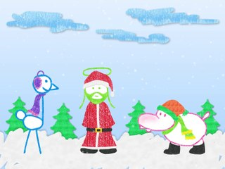 Ostrich, Hippo & Jesus on Grass: Tha Christmus Special