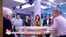 C à Vous  : Line Renaud émue pour son retour en plateau 25/11/2019