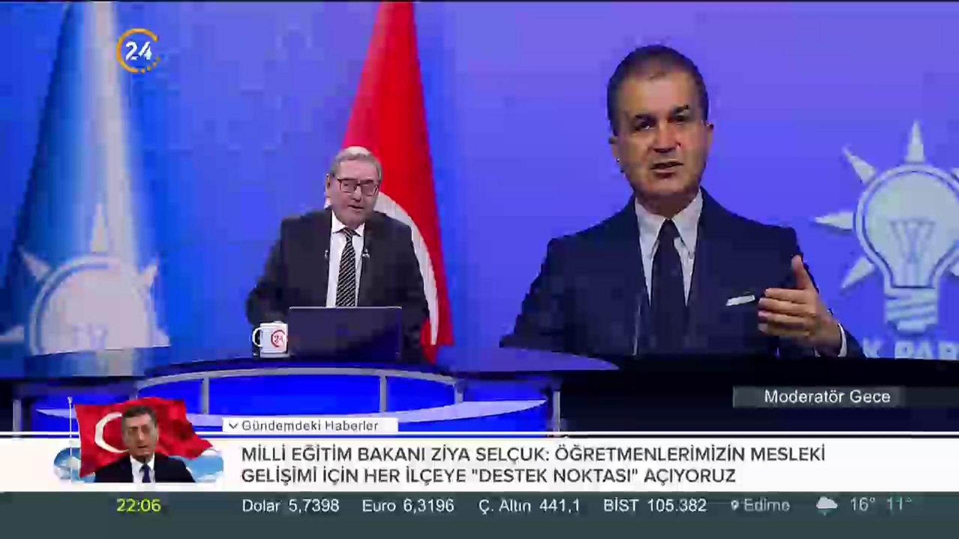 Ak Parti Sözcüsü Çelik kumpası kuranları ifşa etti