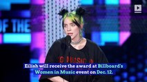 'Billboard' Awards Billie Eilish 2019 Woman of the Year