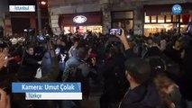 İstanbul'daki Kadın Yürüyüşüne Biber Gazlı Müdahale