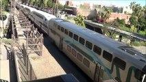 Railfanning Poinsettia Station- Deadheading Coaster, Miramar Local and Amtrak ACTION 8-11-09