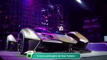 A nova Lamborghini de Gran Turismo