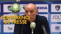 Conférence de presse Havre AC - EA Guingamp (4-0) : Paul LE GUEN (HAC) -  (EAG) - 2019/2020