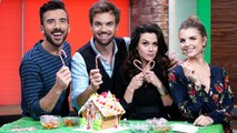 Hilarie Burton Morgan & Tyler Hilton Talk Reuniting on the Screen & Build Gingerbread Houses!
