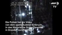 Video zeigt Einbruch in das Grüne Gewölbe