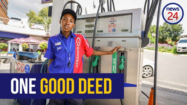 FEEL GOOD | WATCH: From crime and drugs to permanent employment - how one good deed changed this for
