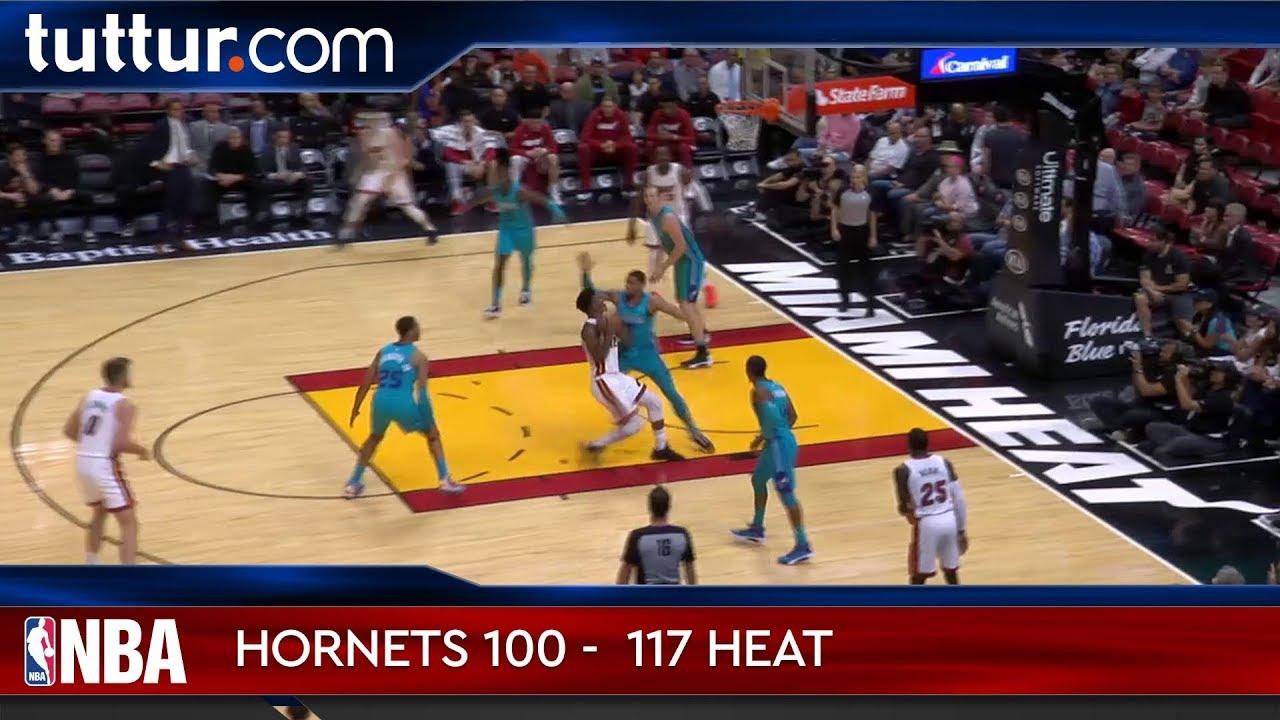Charlotte Hornets 100 - 117 Miami Heat