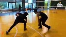 टाइगर श्रॉफ ने दिखाई बास्केटबॉल खेलने की स्किल्स