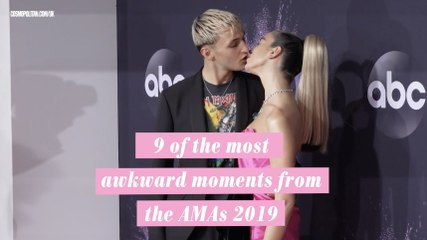 9 of the most awkward moments from the AMAs 2019