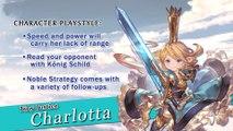 Granblue Fantasy Versus - Bande-annonce de Charlotta