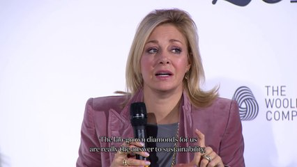 Vogue Fashion Festival 2019   Nadja Swarovski on the difference between mined and created diamonds
