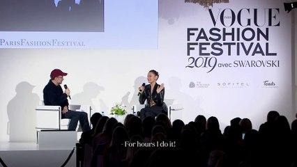 Vogue Paris Fashion Festival 2019   Bella Hadid reveals her in-flight skincare routine