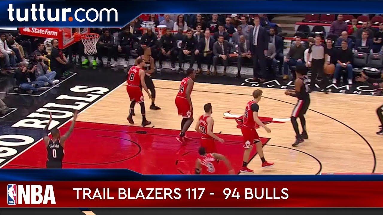 Portland Trail Blazers 117 - 94 Chicago Bulls