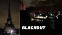 Les images de Paris dans le noir après une panne électrique