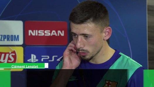 Barça : Clément Lenglet et les larmes d'Ousmane Dembélé