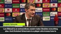'Messi is extraordinary assist maker' Valverde after 3-1 win over Borussia Dortmund in UCL