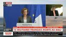 Conférence de presse de la Ministre des Armées après la mort de treize militaires français au Mali