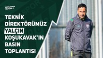 Teknik Direktörümüz Yalçın Koşukavak Adanaspor Maçı Öncesi Basın Toplantısı Düzenliyor