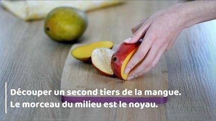 Comment découper une mangue facilement ?