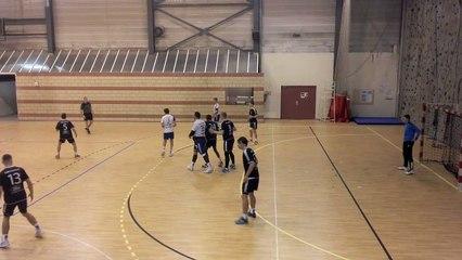 Handball   Nationale 2 (M) 2019/2020 : Le but de la victoire pour Molsheim à Nancy (23-22)