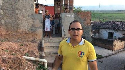 Moradores do bairro do Buracão em Itambé reivindicam melhorias