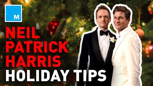 Neil Patrick Harris and David Burtka's tips to surviving the holidays