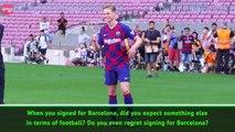 De Jong doubles down on Barca switch