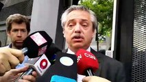 """Alberto, sobre la denuncia contra Alperovich: """"Si es cierto, es un hecho muy grave"""""""