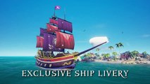 Sea of Thieves - Exclusive Twitch Prime loot for Sea of Thieves