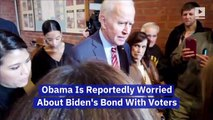 Obama Is Reportedly Worried About Biden's Bond With Voters