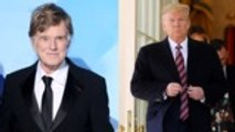 Robert Redford Says Donald Trump's 'Monarchy in Disguise' Need to Come to an End | THR News