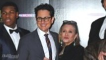 J.J. Abrams Talks Eerie Message Carrie Fisher Left Him in Her Book | THR News