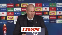 Zidane «Un très bon match» - Foot - C1 - Real Madrid