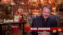 Knives Out - Rian Johnson, Katherine Langford, and Jaeden Martell Interview