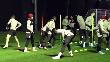 Ballon d'Or Hopeful Virgil Van Dijk ALL SMILES in Liverpool Training _ Napoli Preview