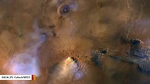 Storm On Mars Unleashed 50-Mile-Tall Dust Towers: NASA