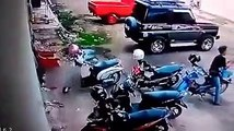 The new mode Thief is recorded by CCTV ,Modus baru maling terekam CCTV