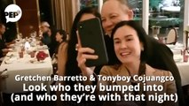 Look who Gretchen Barretto bumped into (and who she's with)   PEP Hot Story