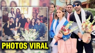 Ranbir Kapoor- Alia Bhatt ENJOY In Manali| Pictures Viral|Brahmastra Shoot