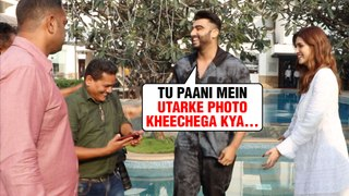 Arjun Kapoor FUN MOMENTS With The Media| Panipat Movie Promotions| Kriti Sanon