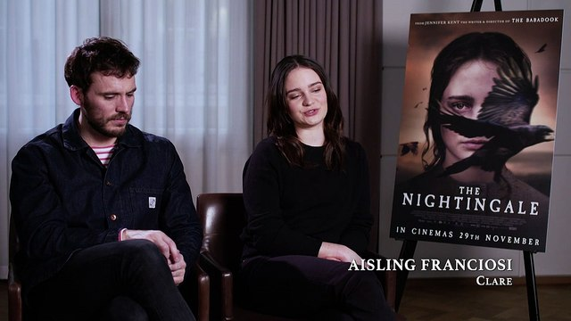 The Nightingale - Exclusive Interview With Sam Claflin & Aisling Franciosi