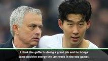 Mourinho brings positive energy but I'm sad about Pochettino - Son