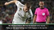 Real can't let leads slip like we did against PSG - Kroos