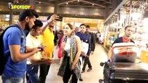 Spotted: Janhvi Kapoor, Sara Ali Khan & Prachi Desai at the Airport